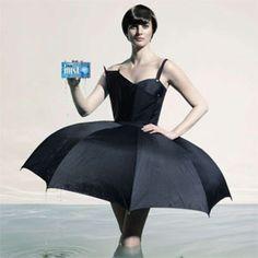 Falda o paraguas??
