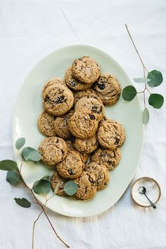 Maple Pecan Choc-Chip Cookies