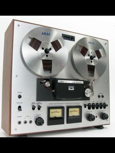 AKAI GX-230D REEL TO REEL TAPEDECK GLASS & X'TAL HEADS.