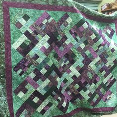 Bali beauty designed by Ingrid Machtemes from Quiltessential Co. Made by Pat
