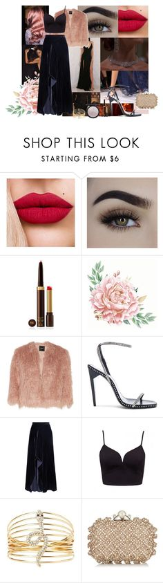"""""""Date with my luxury love"""" by soledad-trinidad on Polyvore featuring moda, Tom Ford, Theory, Yves Saint Laurent, Roland Mouret, Charlotte Russe, Jimmy Choo y Jeffree Star"""