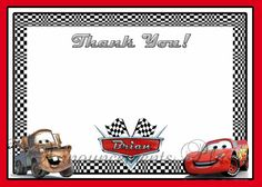 8 Best Cars Birthday Party Images On Pinterest Cars Birthday