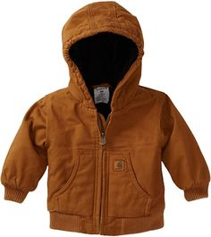 Baby Boy Clothes Hipster, Baby Boy Outfits, Kids Outfits, Carhartt Jacket, Flannel Jacket, Flannel Quilts, Canvas Jacket, Line Jackets, Jacket Style