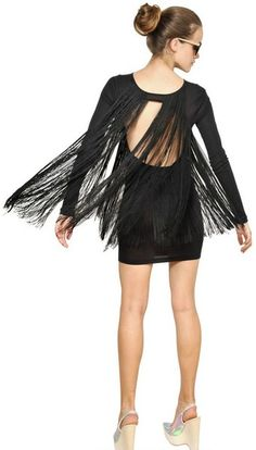 Stella M fringe dress #Dress #Stella McCartney