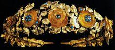 Marie Poutine's Jewels & Royals: Gold Wreath Tiaras