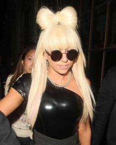 Lady Gaga's famous Hair Bow