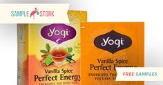 Reserve Your Yogi Vanilla Spice Perfect Energy Tea Free Samples! Get yours while supplies last.