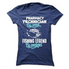 PHARMACY TECHNICIAN FISHING LEGEND T-Shirts, Hoodies (22.99$ ==► Shopping Now to order this Shirt!)
