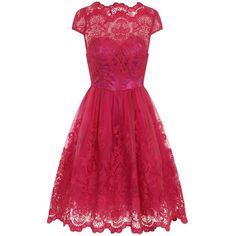 **Chi Chi London Baroque Tea Dress
