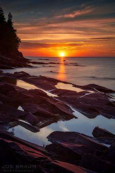 Joe Braun Photography - MICHIGAN: Great Lakes Goodness! Golden Lake, Ludington State Park, Pictured Rocks National Lakeshore, Picture Rocks, Lake Huron, Winter Sunset, Buy Photos, Mackinac Island, Lake Superior