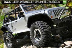 SCX10 Jeep® Wrangler Unlimited Rubicon - AX90028