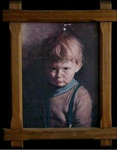 The Crying Boy Painting  It all began in 1985 when several mysterious fires occurred all over England. When the debris was sifted the only item which remained intact was a painting of a little boy with a tear rolling down his cheek.   In 1988, again a mysterious explosion destroyed the home of the Amos family in Heswall, England. When firemen sifted through the burnt-out shell of the house, they found a framed picture, entitled 'The Crying Boy', which was a portrait of an angelic-looking boy…