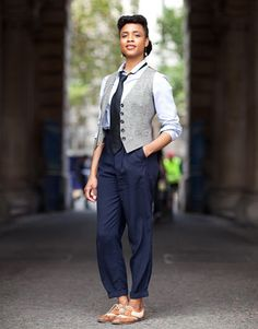FAVOURITE!    London Fashion Week Street Style 2012 - Harper's BAZAAR