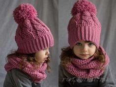 I love handmade Crochet Kids Hats, Baby Hats Knitting, Crochet Beanie, Knitted Hats, Knit Crochet, Scarf Knit, Knitting Patterns, Crochet Patterns, Pom Pom Hat