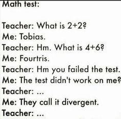 This made me laugh if u know about divergent then u will get it