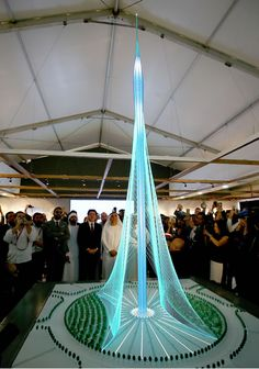 Calatrava presenta en Dubái la próxima torre más alta del mundo - arquitectura Obrasweb.mx