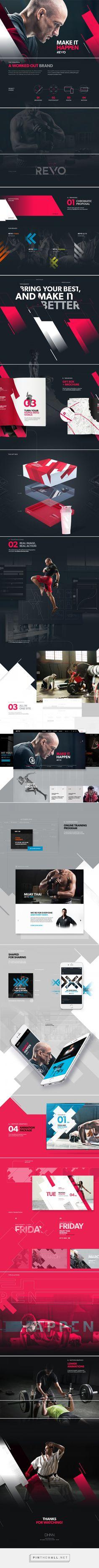 REVO Gym — Branding