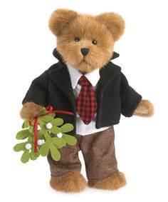 Look what I found on #zulily! Traditional Christmas Boy Plush Bear #zulilyfinds