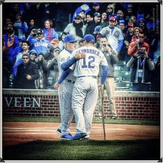 """1,130 Likes, 9 Comments - Mike ⚾️ (@strictlywrigley) on Instagram: """"Emotional scene at Wrigley as Kyle Schwarber is introduced along with the rest of the 2016 Chicago…"""""""