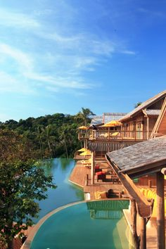 The accommodations blend into the resort's rain forest setting; here's a Cliff Villa   Soneva Kiri (Thailand) - Jetsetter
