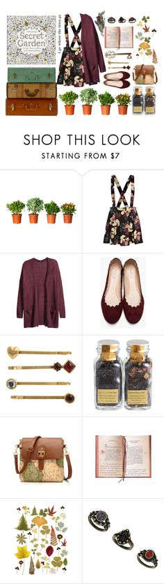"""""""The Secret Garden ~"""" by this-perfect-dream ❤ liked on Polyvore featuring River Island, H&M, Chloé, Juicy Couture, Debauve & Gallais, vintage, girly and nature"""