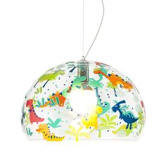 Discover the Kartell Children's FL/Y Ceiling Light - Dinosaur - Medium at Amara