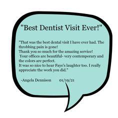 -Angela Dennison Jan 19 2021 I Really Appreciate, Best Dentist, Dental, Laughter, Good Things, Teeth, Dentist Clinic, Tooth, Dental Health