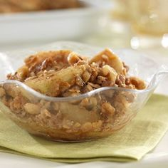 Granny Smith's Apple Crisp Recipe - Diabetic Gourmet Magazine - Diabetic Recipes