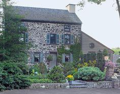 Old stone house outside Philadelphia
