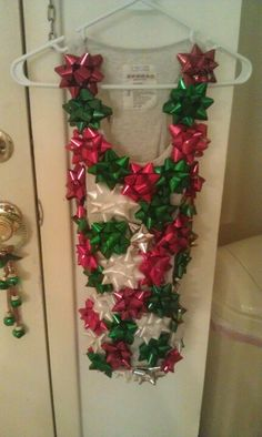 Ugly Christmas Sweater party costume!