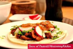 Taco Tuesday recipes Mexico in my Kitchen: How to Make Tacos al Pastor at Home / Cómo Hacer Tacos de Trompo en Casa|Authentic Mexican Food Recipes Traditional Blog #mexicanrecips #mexicancuisine #tacos