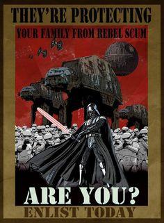 Póster de Darth Vader  Buceaba por la red, como suelo hacer en esta época del año, cuando de pronto me encontré con un inesperado tesoro: una colección de póster de Star Wars. Claro, como si no hubiera visto suficientes, pensará más de alguien, pero estos no son los afiches de la saga, sino otros, hechos por aficionados a la Guerra […]