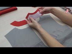 Обработка платья подкладкой. Как притачать подкладку к потайной застежке-молнии. Часть2 - YouTube