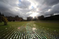 bruce munro at waddesdon manor