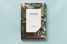 Forager, A Subjective Guide To Miami's Edible Plants- Usign Bodoni poster, Garamond, Rongel + Futura