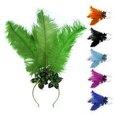 Festimania - Toda linha de produtos para animar sua festa! Clique na Imagem para Ampliar. Samba, Diy Headband, Headbands, Carnival Fashion, Brazil Carnival, Feather Headpiece, 26th Birthday, Carnival Costumes, Halloween