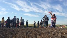 White Wolf : The Women of Standing Rock Vow To Protect Mother Earth