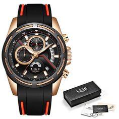 Relogio Masculino LIGE Luxury Quartz Watch for Men Blue Dial Watches Sports Watc Mens Watches For Sale, Mens Sport Watches, Luxury Watches For Men, Casual Watches, Cool Watches, Men's Watches, Male Watches, Watches Online, Popular Watches