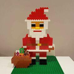Here you can see Santa Claus from LEGO® Duplo, who from BRICKaddict. - Here you can see Santa from LEGO® Duplo, who told us about BRICKaddict. Lego Disney, Lego Christmas, Christmas Activities, Christmas Crafts, Father Christmas, Xmas, Lego Poster, Lego Ninjago Cake, Lego Lego