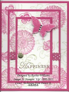 reason to smile triple time by Ruthiemarykay - Cards and Paper Crafts at Splitcoaststampers