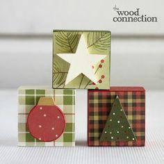 Christmas Block Trio