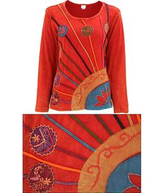 Ray of Light Long Sleeve Top - Fair Trade