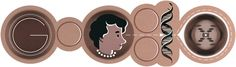 Google Doodle: Rosalind Franklin's 93rd Birthday