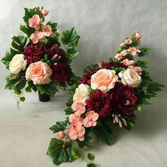 Casket, Ikebana, Flower Arrangements, Floral Wreath, Wreaths, Cemetery, Plants, Decor, Flower Arrangements Simple