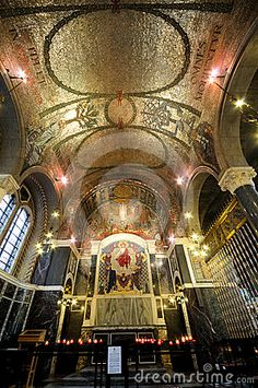 Photo about The Roman Catholic Westminster Cathedral very beautiful and peace, It s in Victoria, London. Religious Architecture, Art And Architecture, Westminster Cathedral, Church Interior, Cathedral Church, Mosques, Place Of Worship, British History, Roman Catholic