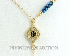 981075b5b9d9 Hamsa Necklace Turquoise Gold filled Hand of Fatima Evil Eye Kabbalah  Jewelry High Quality Multi Layer Strand Necklaces