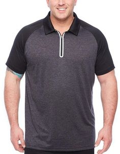 Co THE FOUNDRY SUPPLY The Foundry Big & Tall Supply Mens Short Sleeve Polo Shirt Big and Tall