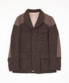 Nigel Cabourn Mallory Jacket - Army Harris Tweed