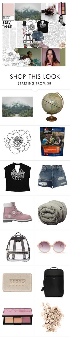 """""""♡ i tried to send her flowers but she has no address"""" by deli-lemonade ❤ liked on Polyvore featuring River Island, Betsey Johnson, N°21, Kiehl's, Kate Spade, NARS Cosmetics, Antipast and tmnbg"""