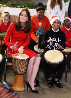 Kate Middleton Photos: The Duchess of Cambridge Attends The Anna Freud Centre Family School Christmas Party